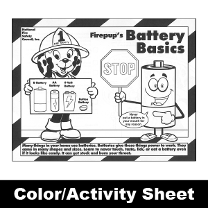 357F: Battery Basics Color Sheet