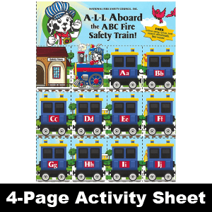 533F: ABC Fire Safety Train Game